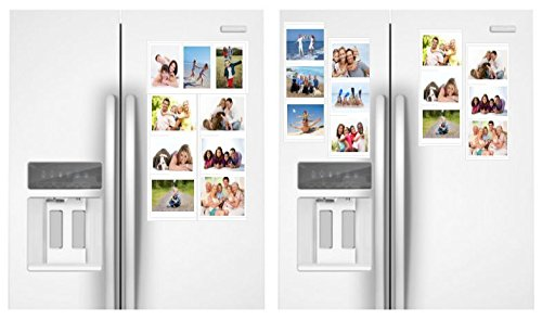 Amazon.com - White Magnetic Picture Frames Collage for Refrigerator ...