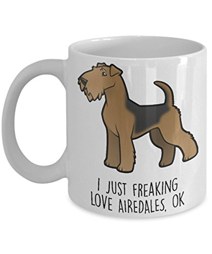 I just freaking love airedales, OK
