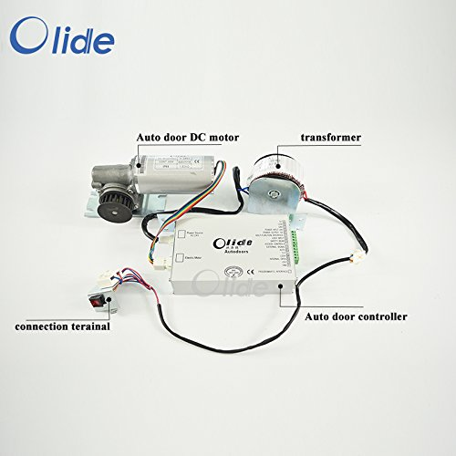 Olide Automatic Sliding Door Spare Parts Motor And Control Panel (SD280 Spare Part - Parts Glasses Spare For