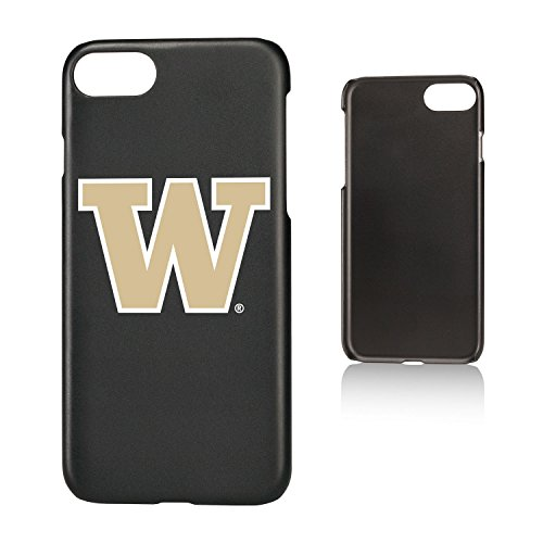 (Keyscaper KSLMI7-0WAS-INSGN1 Washington Huskies iPhone 8/7 Slim Case with UW Insignia Design)