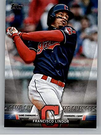 f38d156ad 2018 Topps Update and Highlights Baseball Series Salute  S-47 Francisco  Lindor Cleveland Indians