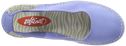 Tho456sof Women's Blue Flats Ballet Lavender Softinos Blue P8gS4xR