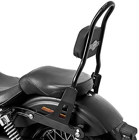 Sissy Bar CSM pour Harley-Davidson Dyna Street Bob 09-17 Low Rider S Noir