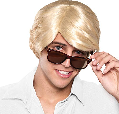amscan Chick Magnet Wig Halloween Costume Accessories, Blonde, One - Wig Blonde Character