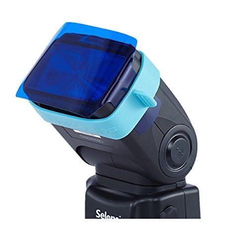 Selens Universal Flash Gels Lighting Filter SE-CG20 - 20 pcs Combination Kits for Camera Flash light