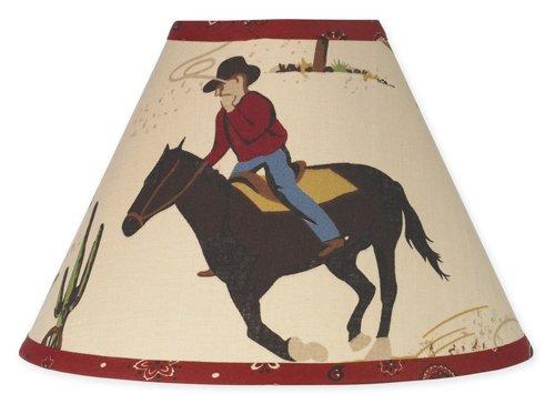 Wild West Cowboy Western Horse Lamp Shade by Sweet Jojo Designs