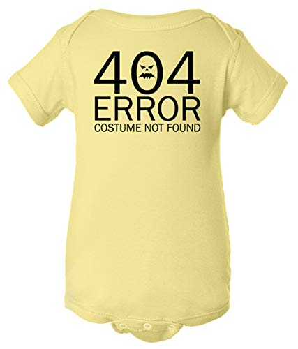 Code 404 Costumes Not Found - Tenacitee Infant's 404 Costume Not Found