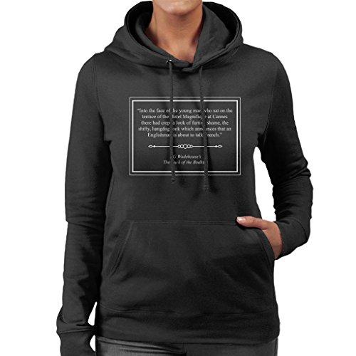 Sweatshirt Sweatshirt Hooded Bodkins Luck Opening Black Wodehouse Wodehouse of The Women's PG The Coto7 Lines RvPwY