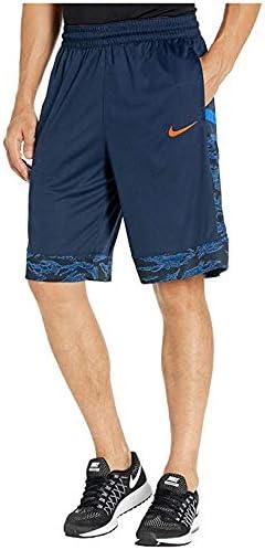 [NIKE(ナイキ)] メンズパンツ・ショーツ等 Dry Courtlines Shorts Print Obsidian/Team Orange (M) [並行輸入品]