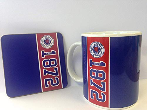 Rangers FC Mug and Coaster Set