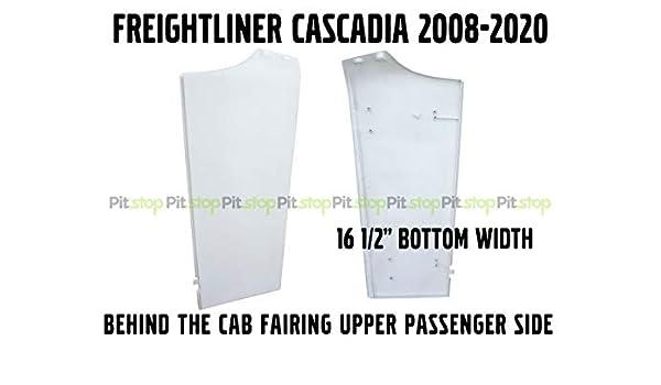 Freightliner Cascadia Semi Truck Behind Cab Cabin Fairing Extension Upper Left