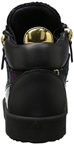 Giuseppe Zanotti Mujeres Rw70010 Fashion Sneaker Nero / Multi