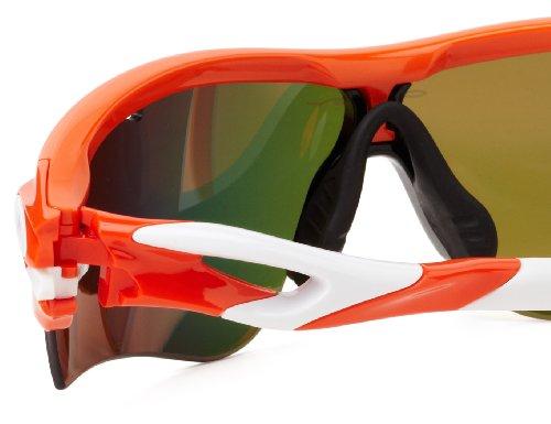 Sol Hombre Gafas Oakley Orange Para Radarlock De R6wtx7