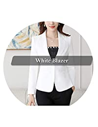 Blazer Straight and Smooth Jacket Office Lady Style Coat