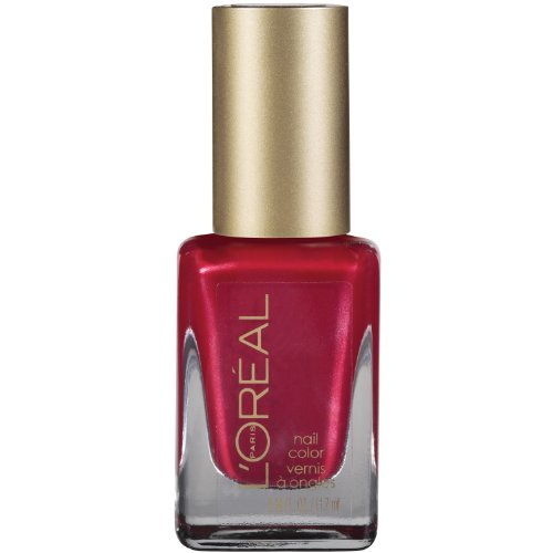 L'Oreal Paris Colour Riche Nail, Devil Wears Red, 0.39 Ounces - Red Devil Brush Inc