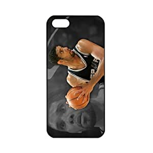 NBA San Antonio Spurs Tim Duncan Case For Samsung Galaxy S5 Cover PC Soft Black cases for basketball fans Case For Samsung Galaxy S5 Cover PC Soft s for basketball Spurs fans (Black)