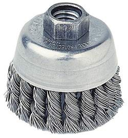 3 Carbon Steel Knot Wire Cup Brush (4 Pack) ()