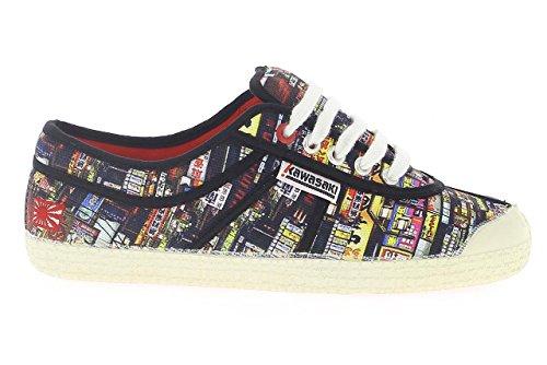 Kawasaki Sneaker Basic Shoe Schwarz/Mehrfarbig EU 37