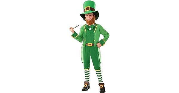 Amazon.com: Disfraz de duende irlandés o leprechaun ...