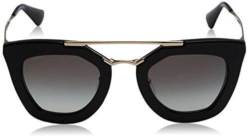 Grey Black PR Gradient 09QS Prada Sonnenbrille CINEMA Noir q1wXYpA