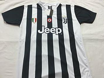 Camiseta de Fútbol PAULO DYBALA 21 Juventus NUEVA Temporada 2017-2018 Replica OFICIAL con LICENCIA