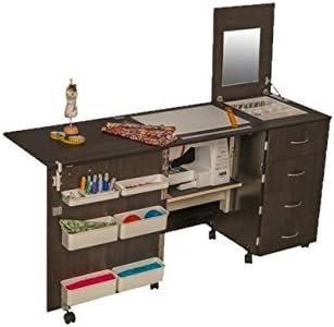 Comfort 2 | Mesa para máquina de Coser |, Oak Kendal Cognac, M ...