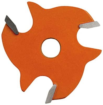 CMT 822.332.11 3-Wing Slot Cutter with 1/8-Inch Cutting Length and 5/16-Inch Bore