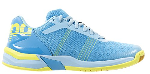 Cyan Ciel Clair Fluo Azul Zapatos Jaune Jaune Bleu para de Cyan Mujeres de Fluo Ataque Clair Kempa balonmano Bleu Contendor Ciel wUxZTA