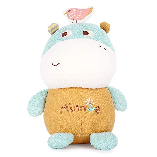 MeToo Cute Magic Animal Stuffed Plush Doll Toy Gift 7 inch (Hippo)