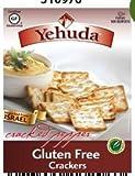 Yehudah Gluten Free Matzo Crackers, Cracked Pepper (Case of 12) [Misc.]