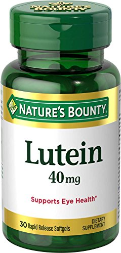 Natures Bounty Naturally Contains Zeaxanthin
