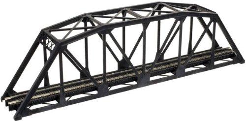2070 N Atlas Through Truss Bridge Kit-Code 55 (Black)