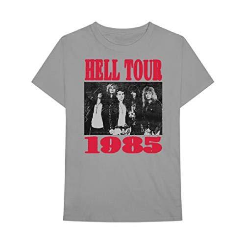 Men's Guns N Roses Hell Tour 1985 T-Shirt, S to XXL