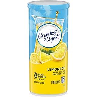 Crystal Light Lemonade Drink Mixes (6 Pitcher Packets)