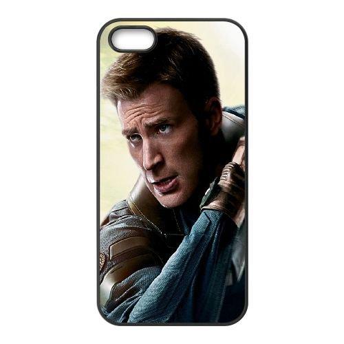 901 Winter Soldier L coque iPhone 5 5S cellulaire cas coque de téléphone cas téléphone cellulaire noir couvercle EOKXLLNCD21233