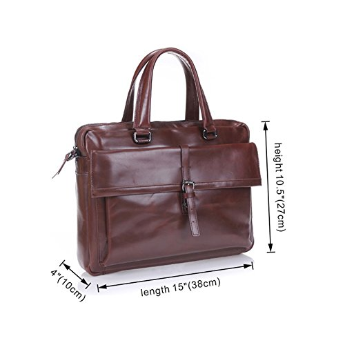 f09f2df6ea Épaule Messenger Porte-documents Sac / cuir véritable sacs sac à main  d'affaires ...