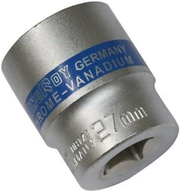 Aerzetix Douille de vissage 1//2 Allen six pans 27mm CrV