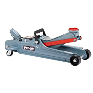Pro Lift F-767 Grey Low Profile Floor Jack - 2 Ton Capacity