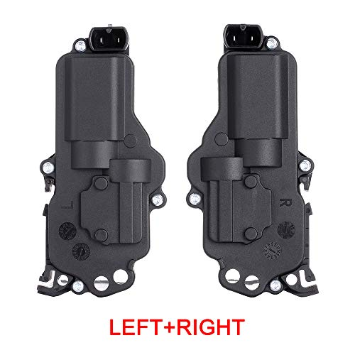 (Front/Rear Left+Front/Rear Right Door Lock Actuators Fits for 1999-2004 Ford Mustang Ranger Windstar F-150 Expedition 2003-2008 Lincoln Navigator 1999-2007 Mercury Monterey 746-149 DLA144 746-148)