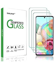(3-Pack) Beukei For Samsung (Galaxy A71) Screen Protector Tempered Glass,Full Screen Coverage