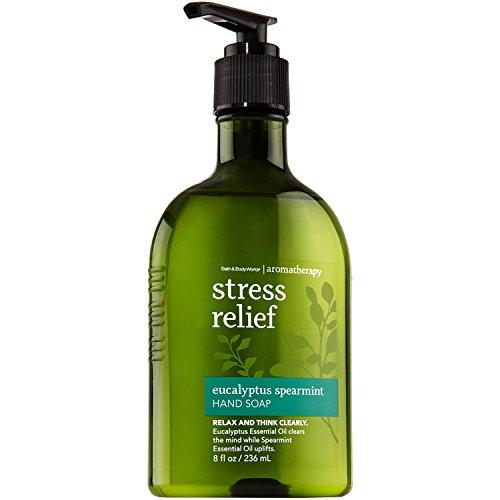 Bath & Body Works Aromatherapy Original Eucalyptus Spearmint Stress Relief Hand Soap 8 oz (236 -