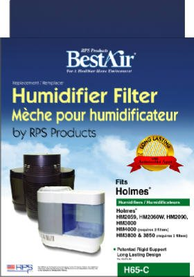 Rps Products H65-C-6 Extended Life Humidifier Wick Filter - Quantity 6