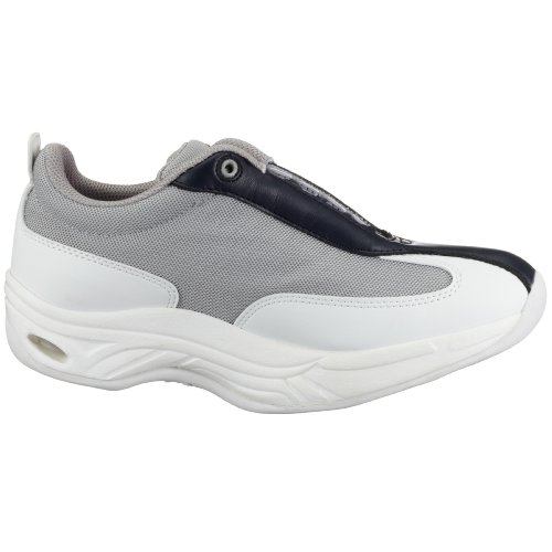 Chung Shi MEF9100515 - Zapatillas de tela para mujer Gris