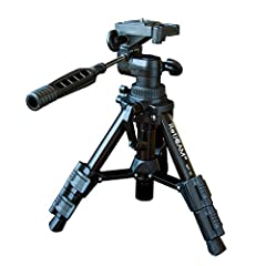 Tabletop Tripod with 3-Way