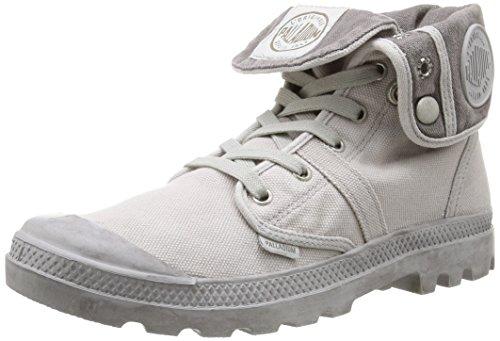 Palladio Pallabrouse Baggy Herren Desert Boots Grau (vapore / Metallo)
