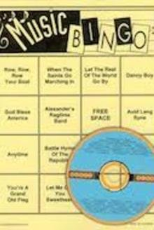 Elder Group Games Music Bingo 1 for Seniors (Fun,Engaging Activity for All Senior Citizens) (Senior Citizen Games)