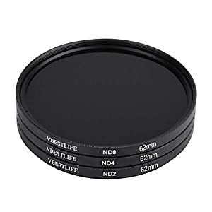 100% New ND2 ND4 ND8 Lens Filter Kit With Photographic Device