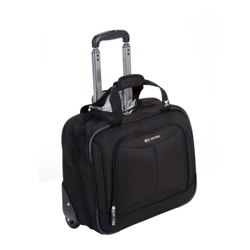 Delsey Luggage Helium Fusion 3.0 Trolley Bag, Black, 17'x6.5'x13'