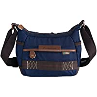 Vanguard Havana 21 Shoulder Bag (Blue) for Sony, Nikon, Canon, Fujifilm Mirrorless, Compact System Camera (CSC), DSLR, Travel