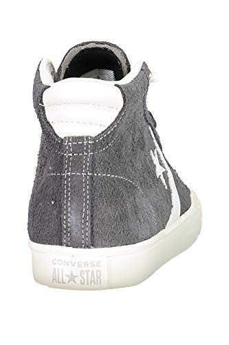 Black Basse Unisex Adulto Converse Ginnastica Leather Mid Da Gray Pro Vulc 049 Scarpe almost Lifestyle light Nero 8q4O8wF